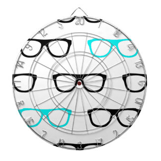 geeky glasses blue geek dart boards