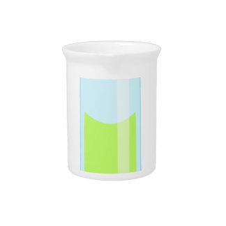 Geeky kawaii test tube pitcher