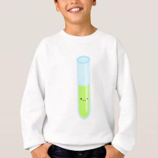 Geeky kawaii test tube sweatshirt