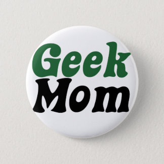 Geeky Mom 2 Inch Round Button