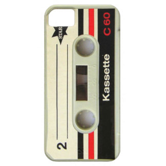 Geeky nerdy 1980s cassette retro cassette tape iPhone 5 cover