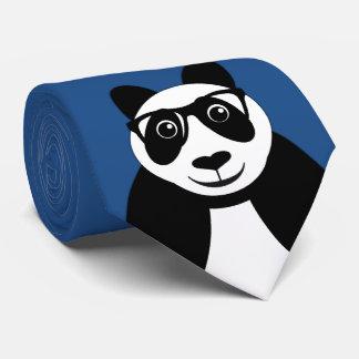 Geeky Panda Bear Tie