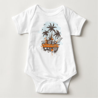 Geen Geko Beach Club Baby Bodysuit