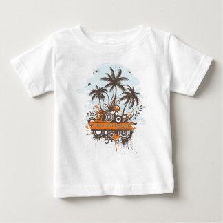 Geen Geko Beach Club Baby T-Shirt