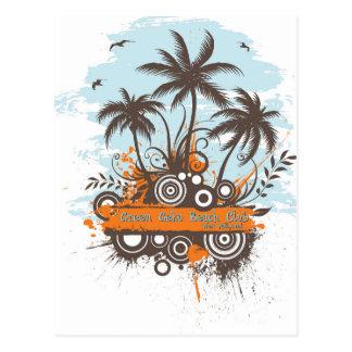 Geen Geko Beach Club Postcard