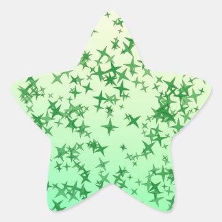 Geen Stars Star Sticker