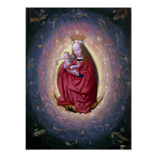 Geertgen tot Sint Jans The Glorification of Virgin Poster