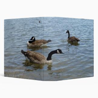 Geese,  3 Ring Binder