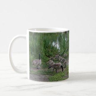 Geese and Goslings Mug