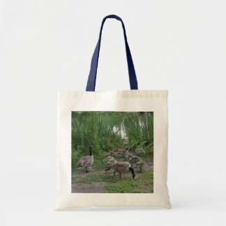 Geese and Goslings Tote Bag