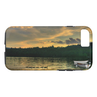 Geese and Rowboats on Newfound Lake Phone Case