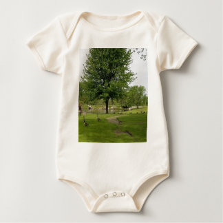 Geese Baby Bodysuit