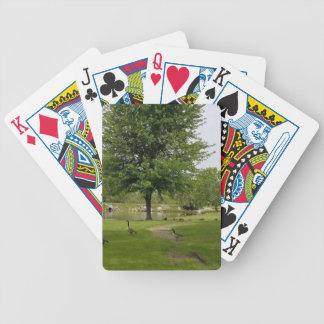 Geese Bicycle Playing Cards