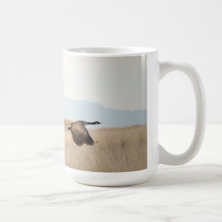 Geese in Flight Coffee Mug