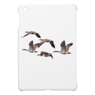 Geese in flight iPad mini cover