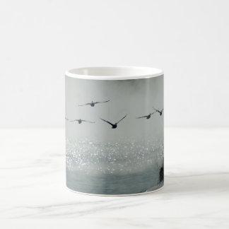 Geese in Flight Mug