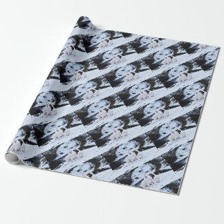 Geese in Winter Wrapping Paper