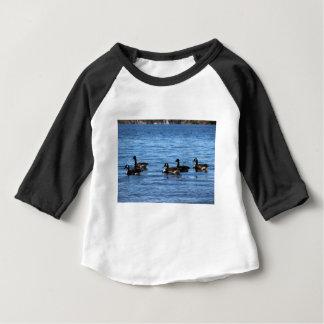 Geese on Lake Baby T-Shirt