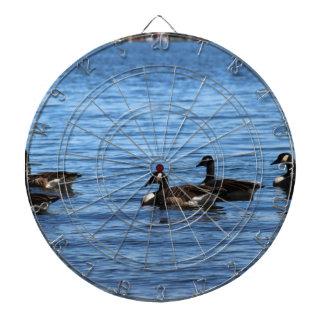 Geese on Lake Dartboard