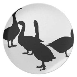 Geese Plate