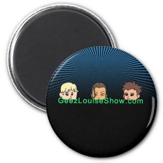 Geez Louise Dark Magnet