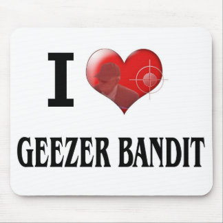 GEEZER BANDIT MOUSE PAD