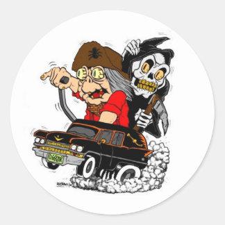 Geezer Death Ride Sticker