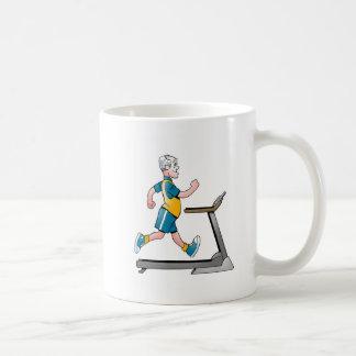 Geezers Go For It Treadmill Mug