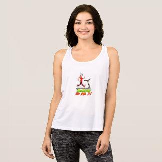 Geezers Go For It Treadmill T-shirt, Women's Tank Top