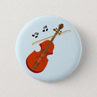 Geige Violine violin 2 Inch Round Button