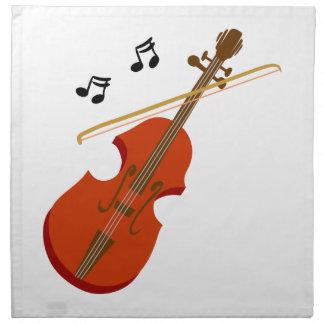 Geige Violine violin Napkin