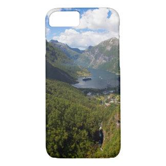 Geiranger Fjord landscape, Norway iPhone 8/7 Case