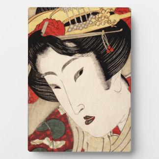 Geisha 1 plaque