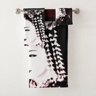 Geisha Bath Towel Set