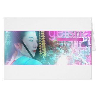 Geisha Card