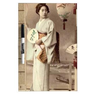 Geisha Dry Erase Whiteboard