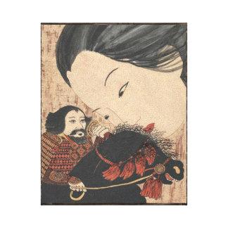Geisha Ghost Canvas Print