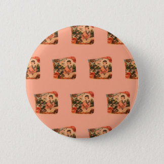 Geisha Girl 2 Inch Round Button
