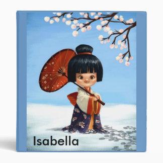 Geisha Girl Binder