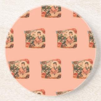 Geisha Girl Coaster