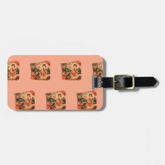 Geisha Girl Luggage Tag