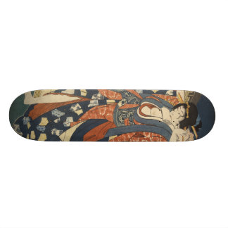Geisha girl skateboard