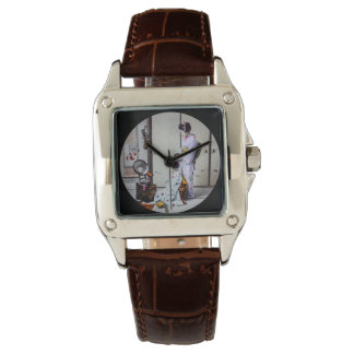 Geisha Hair Dressing Vintage Japanese 芸者 Wristwatch