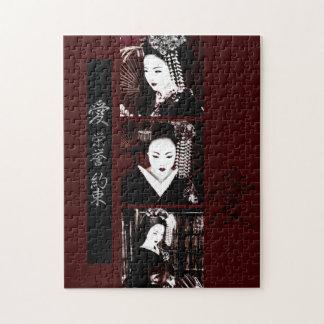 Geisha Jigsaw Puzzle