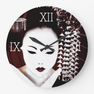 Geisha Large Clock