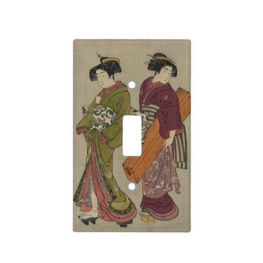 Geisha Light Switch Cover Neon Green