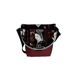 Geisha Messenger Bags