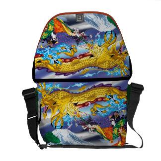 Geisha Of The Dragons Rickshaw Bag Commuter Bag