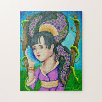 Geisha of the Forest Puzzle