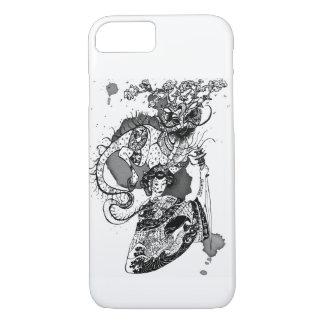 Geisha samurai iPhone 7 case
